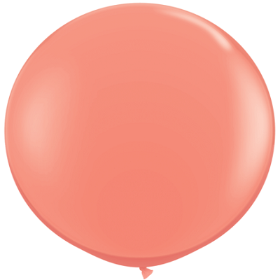 Load image into Gallery viewer, Coral Giant 90cm Round Balloon