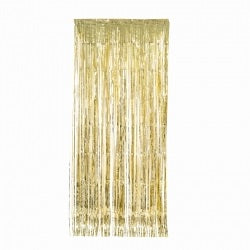 Load image into Gallery viewer, Gold Metallic Curtain (90cm)