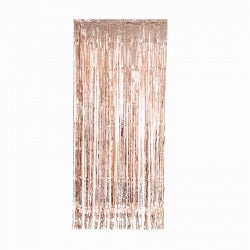 Rose Gold Metallic Curtain (90cm)