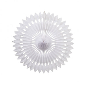Load image into Gallery viewer, White Paper Hanging Fan (40cm)