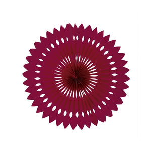 Wildberry Paper Hanging Fan (40cm)