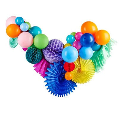 Rainbow Fancy Balloon Garland