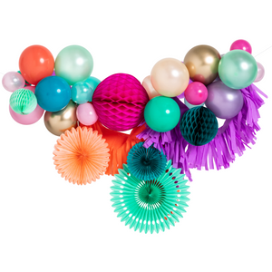 Load image into Gallery viewer, Mermaid Fancy Balloon Garland