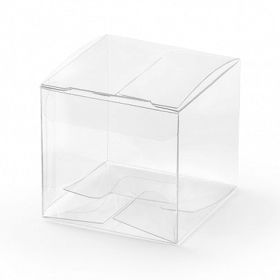 Clear Square Favour Boxes (10 pack)
