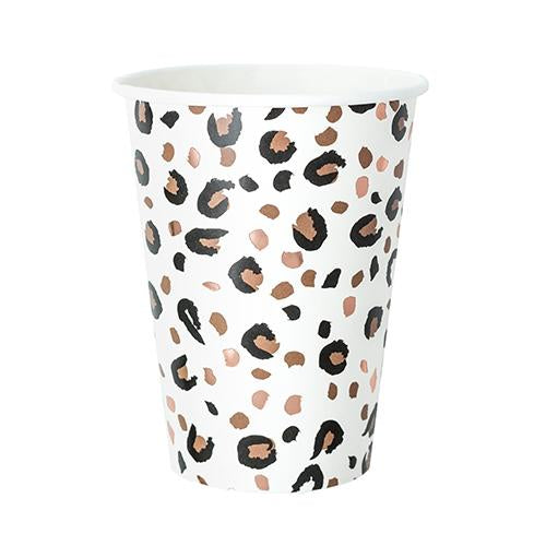 Animal Print Large Cups (8 pack)