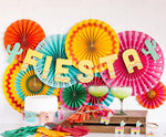 Fiesta Party Fans (8 pack)