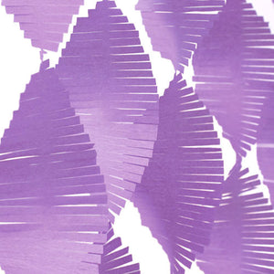 Load image into Gallery viewer, Purple Crepe Fringe Garland (2.7m)