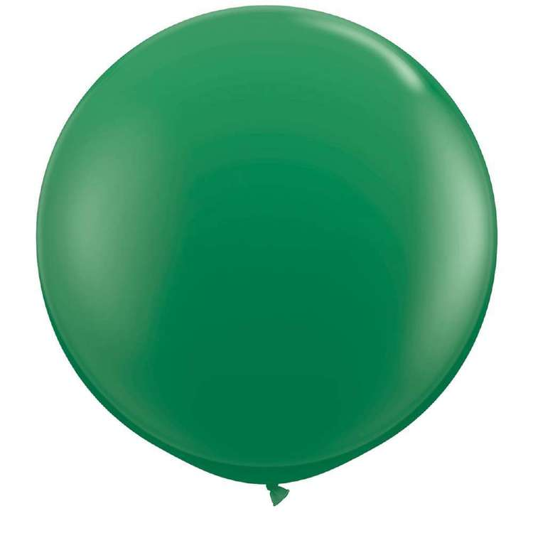 Dark Green Giant 90cm Round Balloon