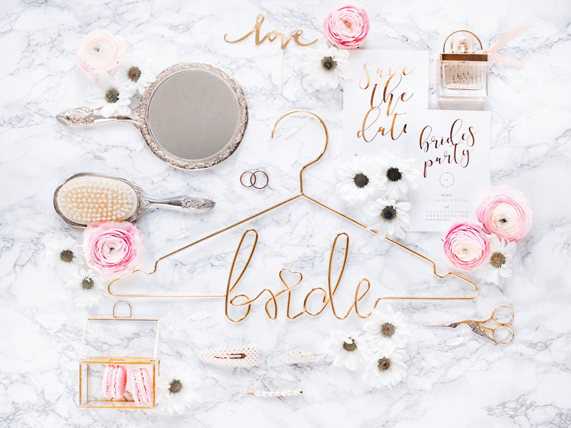 Gold Bride Hanger