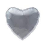 Silver Foil Heart Balloon