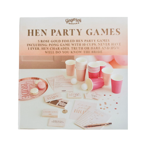 Hens Party Games Hamper (5 set)