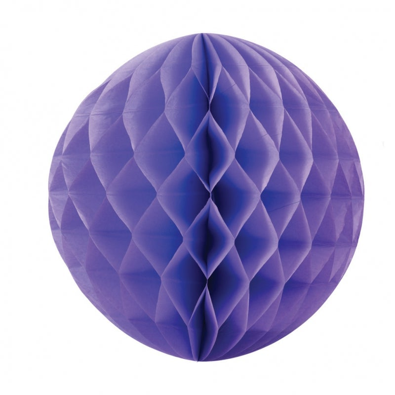 Lilac Honeycomb Ball 25cm