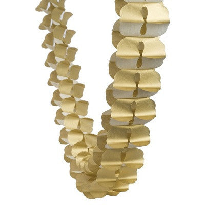 Gold Honeycomb Garland (4m)