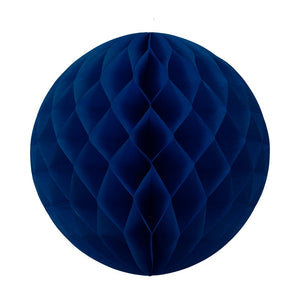 Load image into Gallery viewer, Navy Honeycomb Ball 25cm