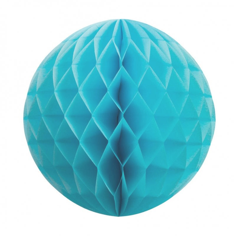 Pastel Blue Honeycomb Ball 25cm