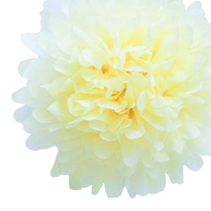 Load image into Gallery viewer, Ivory Tissue Pom Pom