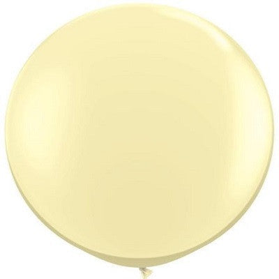 Load image into Gallery viewer, Ivory Giant 90cm Round Balloon