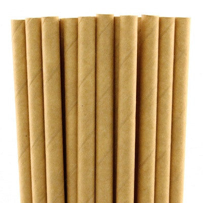Load image into Gallery viewer, Kraft Straws (20 pack)