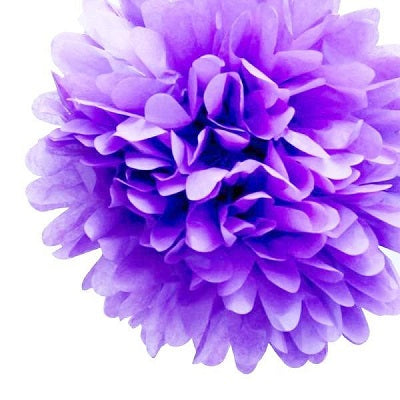 Load image into Gallery viewer, Lavender Tissue Pom Pom