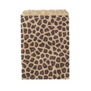 Leopard Print Party Bags (10 pack)