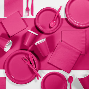 Load image into Gallery viewer, Hot Pink Party Cups (24 bulk pack)