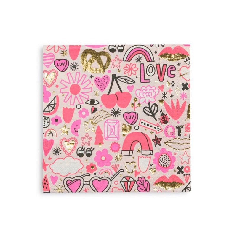 Love Notes Napkins (16 pack)