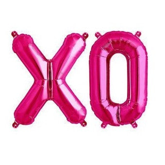 Load image into Gallery viewer, Magenta Giant 'XO' Balloons