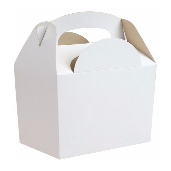 White Gable Party Boxes (5 pack)