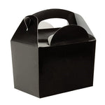 Black Gable Party Boxes (5 pack)