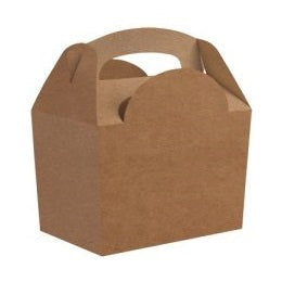 Kraft Gable Party Boxes (5 pack)