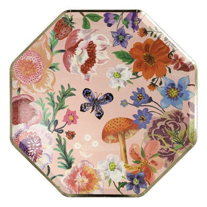 Load image into Gallery viewer, Nathalie Lete Flora Dinner Plates (8 pack)