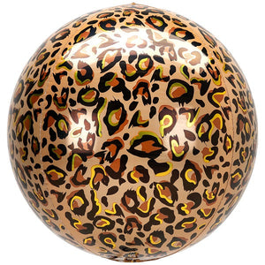 Load image into Gallery viewer, Leopard Orbz Balloon