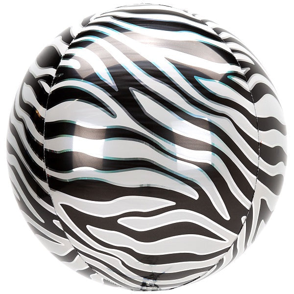 Load image into Gallery viewer, Zebra Orbz Balloon