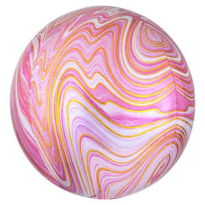Load image into Gallery viewer, Pink Marble Orbz Balloon