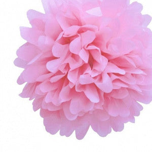 Load image into Gallery viewer, Pale Pink Tissue Pom Pom