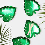 Green Palm Leaf Plates (8 pack)
