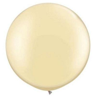 Load image into Gallery viewer, Pearl Ivory Giant 75cm Round Balloon