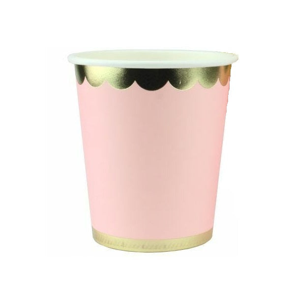 Luxe Pink Cups (12 pack)