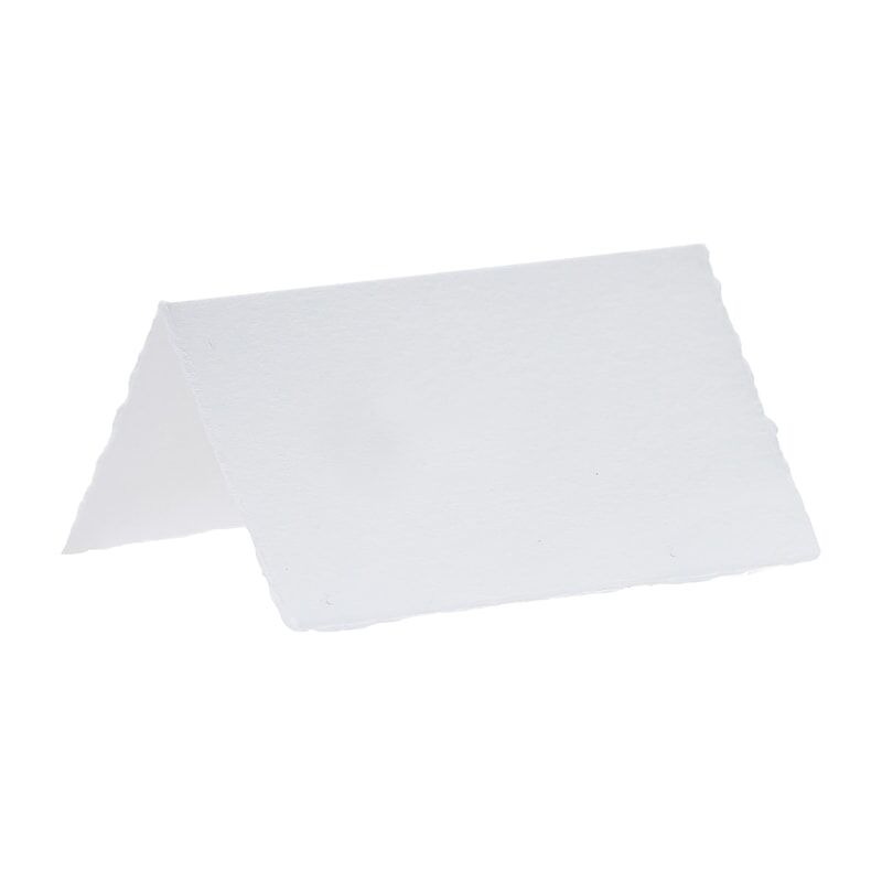White Cotton Paper Place Cards (10 pack)