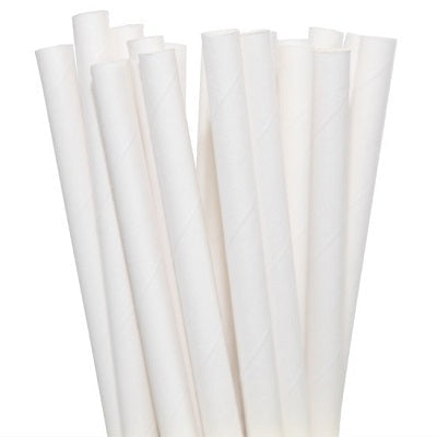 Load image into Gallery viewer, White Straws (25 pack)