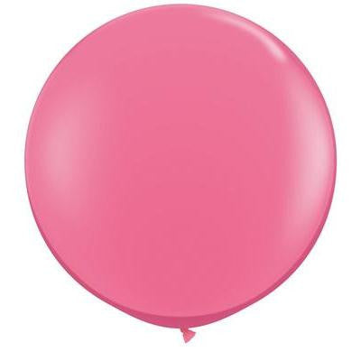 Rose Giant 90cm Round Balloon