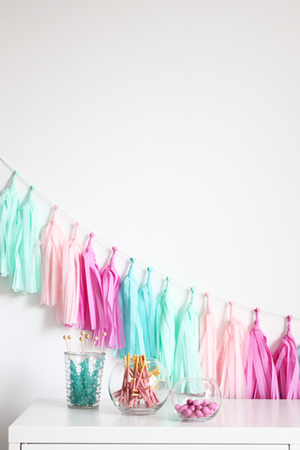 Load image into Gallery viewer, Candy Shoppe Tassel Garland Kit