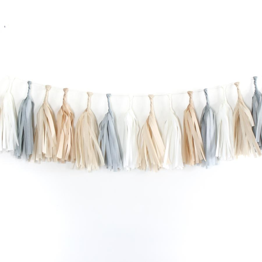 Natural Tassel Garland Kit