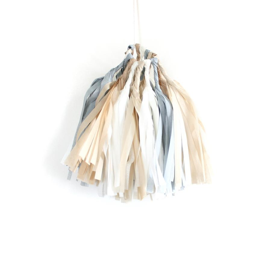 Load image into Gallery viewer, Natural Tassel Garland Kit
