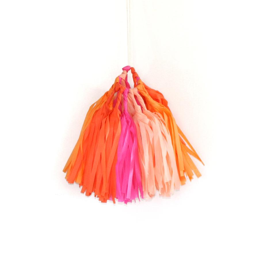 Bright Tassel Garland Kit