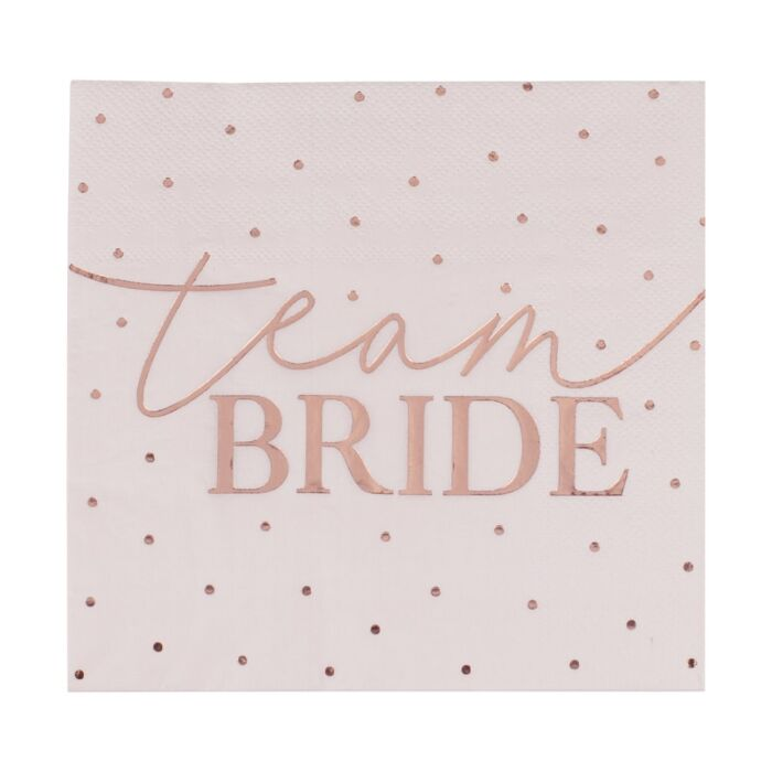 Load image into Gallery viewer, Team Bride Napkins (16 pack)