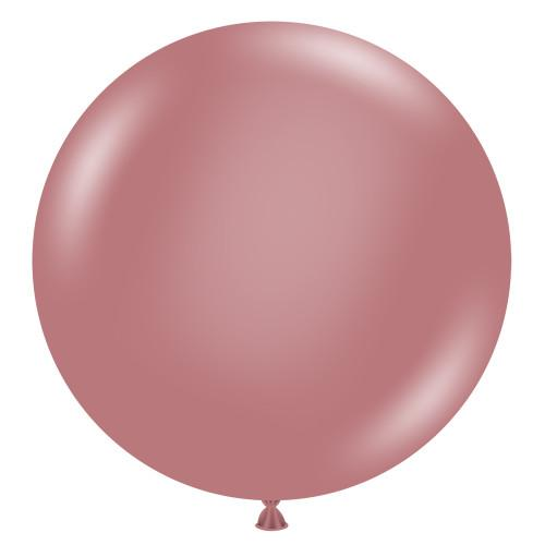 Load image into Gallery viewer, Canyon Rose Giant 90cm Round Balloon