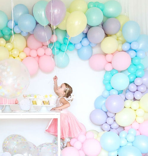 Pastel Balloon Bouquet