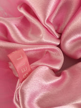 Load image into Gallery viewer, Face Mask and Scrunchie Combo in Pink Satin