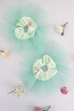 Load image into Gallery viewer, Oversized Scrunchie in Satin and Tulle